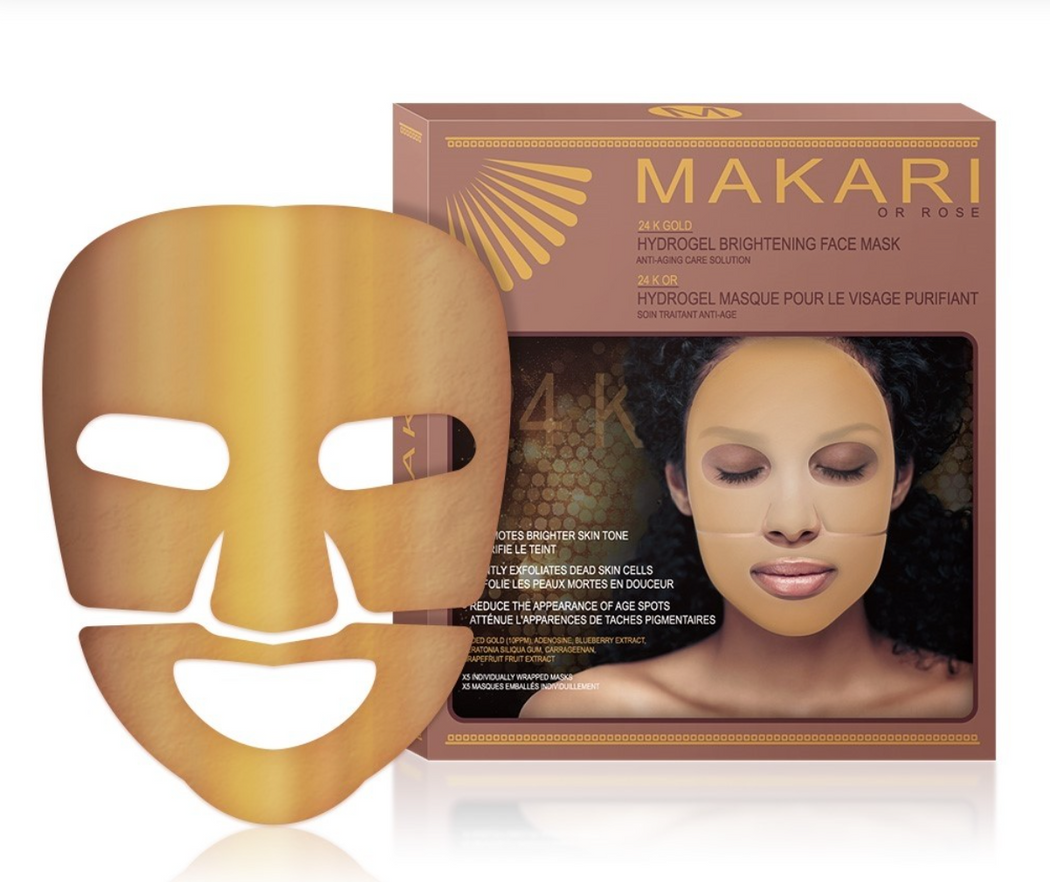 Makari 24K Gold Hydrogel Brightening Face Mask