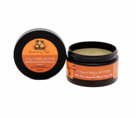 Sunny Isle Whipped Shea Butter with 100% Pure Jamaican Black Castor Oil