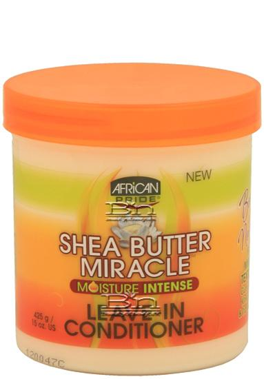 African Pride Shea Miracle Bouncy Curls Pudding