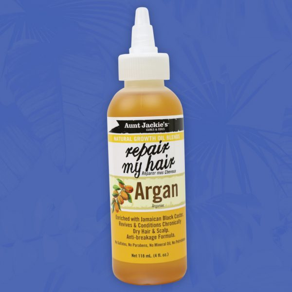 Aunt Jackie's Repair My Hair Argan Oil