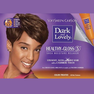 Dark and Lovely Hair Relaxer Kit - Color Treated Hair
