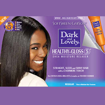 Dark and Lovely Hair Relaxer Kit - Regular