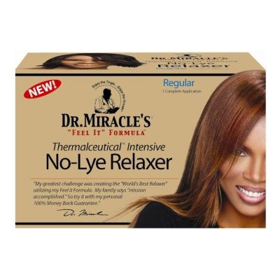 Dr. Miracle's No-Lye Relaxer System – Regular Strength