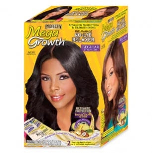 Profectiv Mega Growth - No-Lye Relaxer Regular: 2 Touch-up Applications