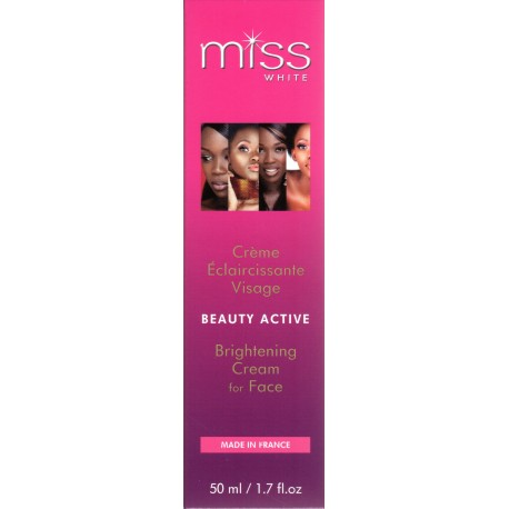 Fair and White Miss White Beauty Active Brightening Cream for Face