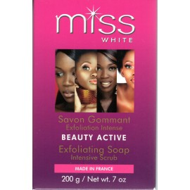 Fair and White Miss White Beauty Active Exfoliating Soap