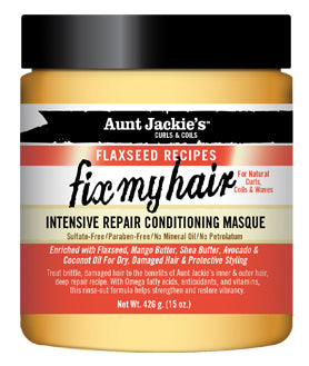 Aunt Jackie's Intensive Repair Conditioning Masque - 'Fix my hair'