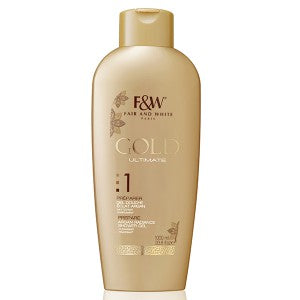 Fair and White Gold Ultimate Argan Radiance Shower Gel