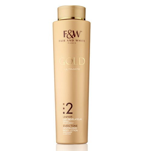 Fair & White Gold Even Tone Revitalizing Body Lotion