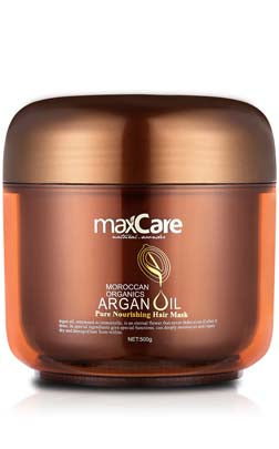 MaxCare Argan Oil Pure Nourishing Hair Mask