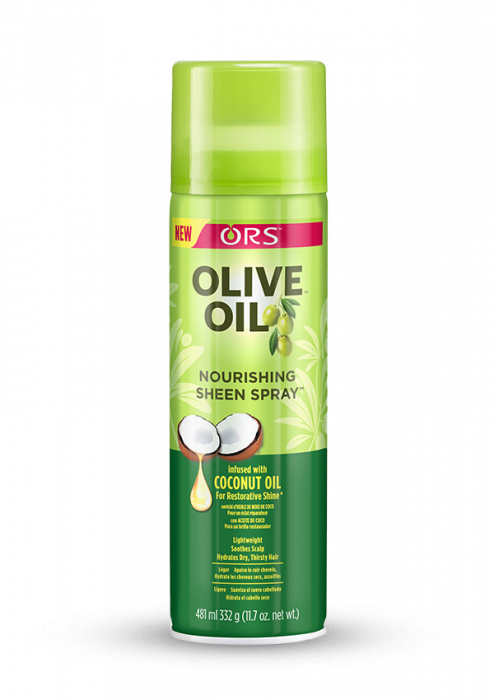 ORS Olive Oil Sheen Spray infused with Coconut Oil