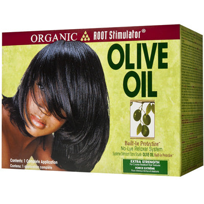 Organic Root Stimulator Olive Oil Relaxer Kit - Super