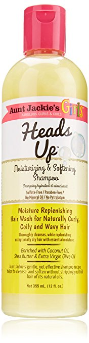 Aunt Jackie's Girls Moisturizing and Softening Shampoo - 'Heads up'