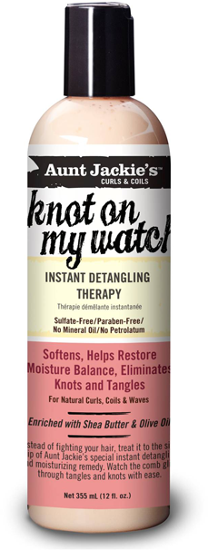 Aunt Jackie's Instant Detangling Therapy - 'Knot on my watch'