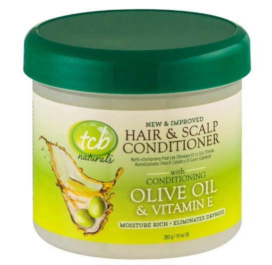 TCB Naturals Olive Oil Hair & Scalp Conditioner