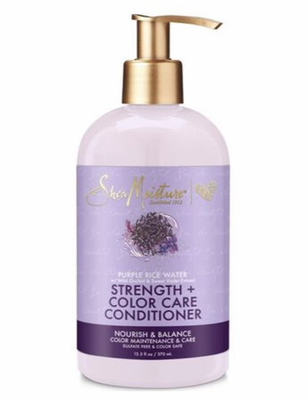 Shea Moisture Purple Rice Water Strength + Colour Care Conditioner