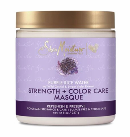 Shea Moisture Purple Rice Water Strength + Colour Care Masque
