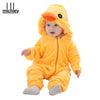 Baby Animal Jumpsuits: Winter Clothes with Cartoons