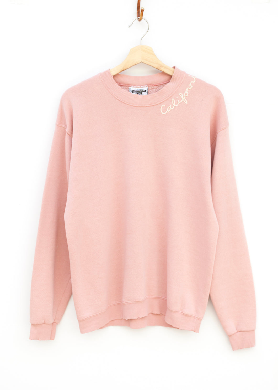 California Sweatshirt - Petal Pink