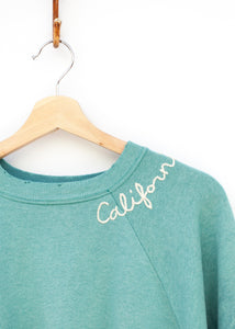 California Sweatshirt - Robin's Egg