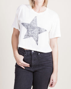 BIG STAR CROP TEE