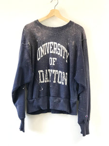 CROPPED VINTAGE UNIVERSITY OF DAYTON CHAMPION SWEATSHIRT