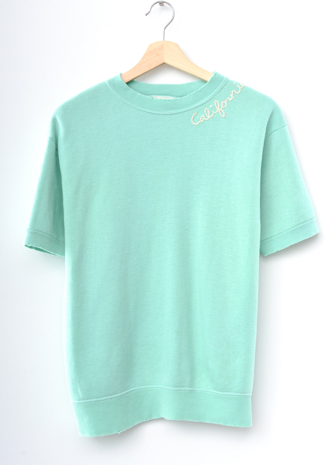 California Shorty Sweatshirt - Mint