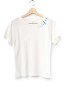 "Catalina ""California"" Tee- Off White"