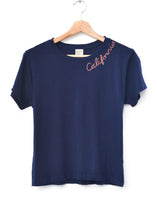 "Catalina ""California"" Tee- Indigo"