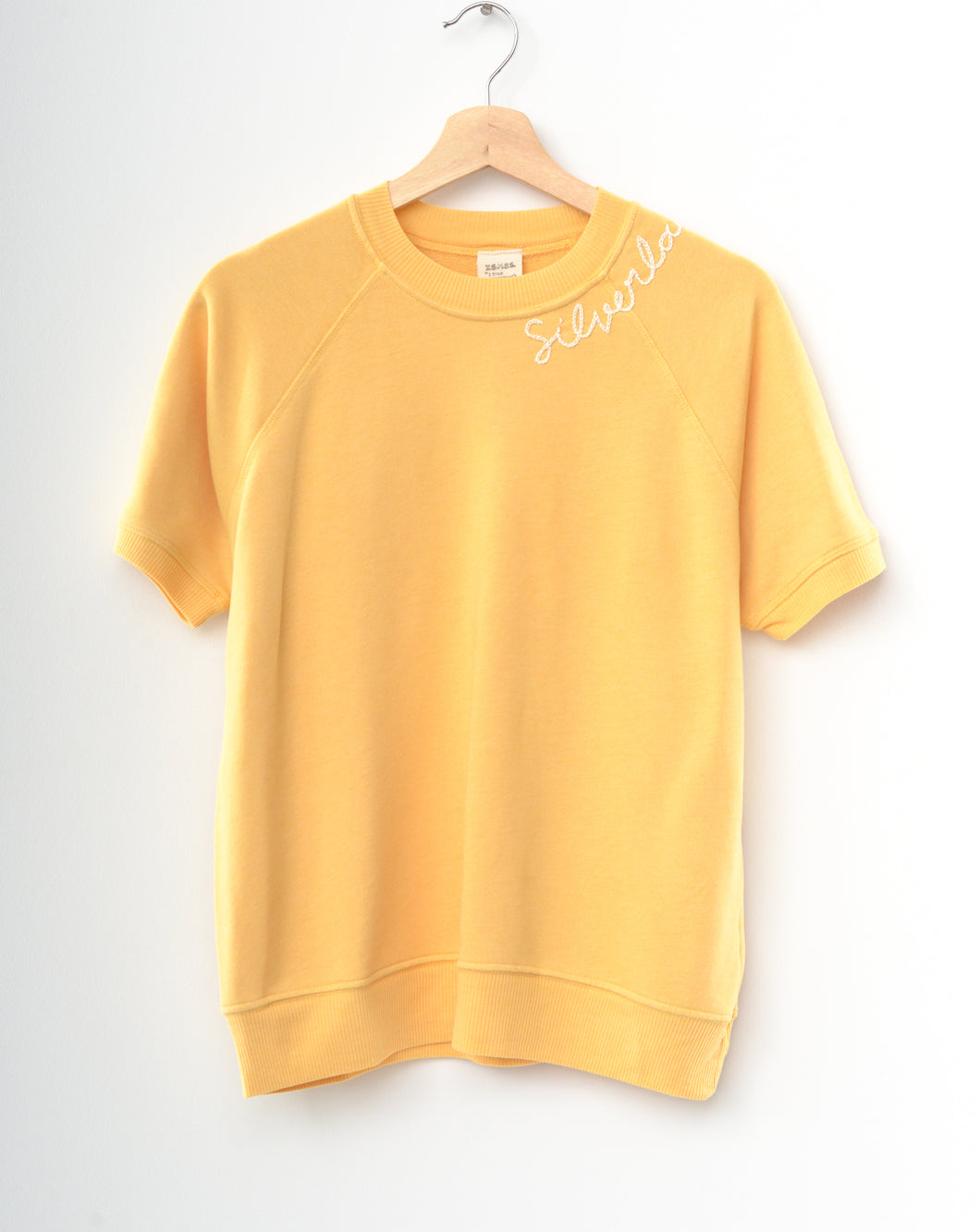 Happy Silverlake Shorty Sweatshirt - Sunset Gold