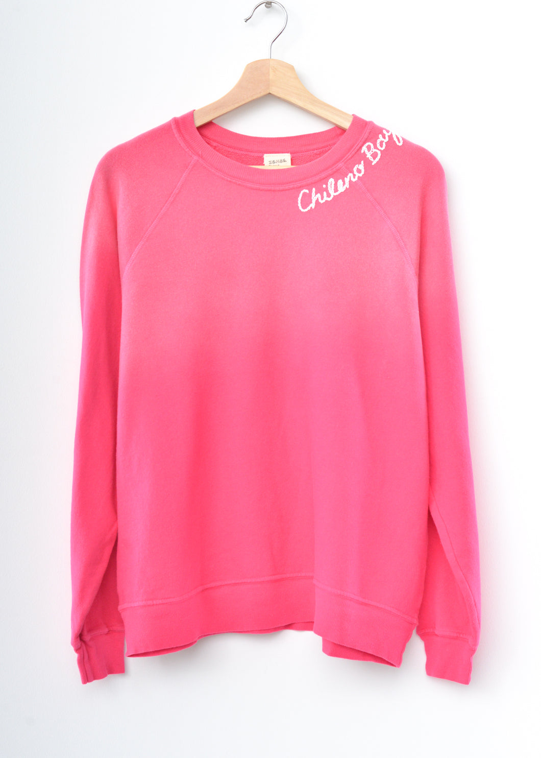 Chileno Bay Sweatshirt - Fuchsia Rose
