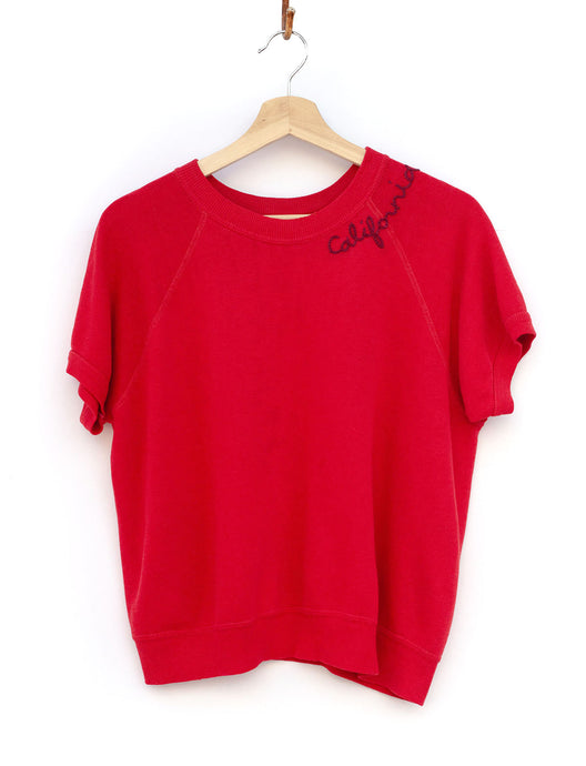 California Shorty Sweatshirt - Fiery Red