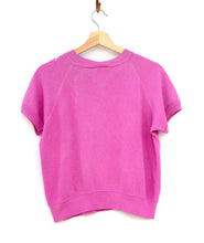 California Shorty Sweatshirt - Rose Violet