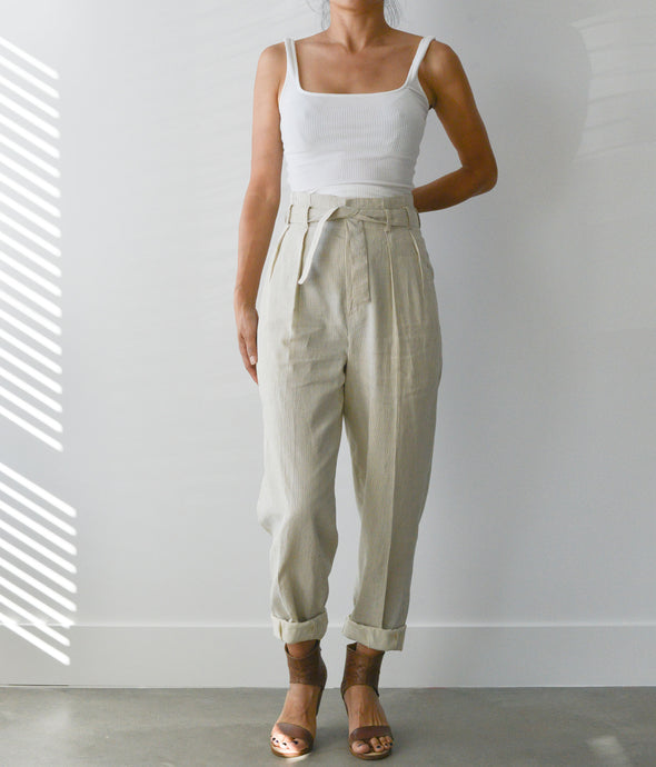 Cape Town Pleated Trouser