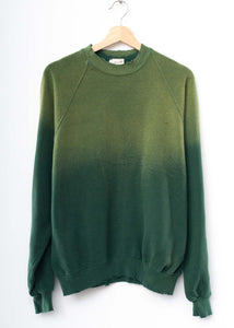 Solid Sweatshirt- Washed Olive