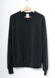 Solid Sweatshirt- Black