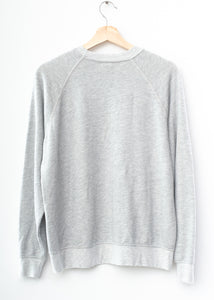 U⭐S⭐A Sweatshirt- Heather Grey
