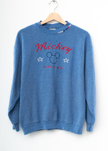 Mickey Mouse Sweatshirt-Blue
