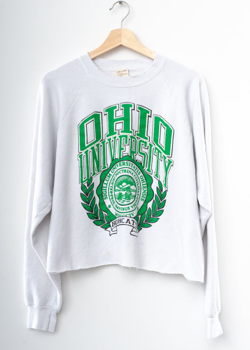 Ohio University Cropped Sweatshirt