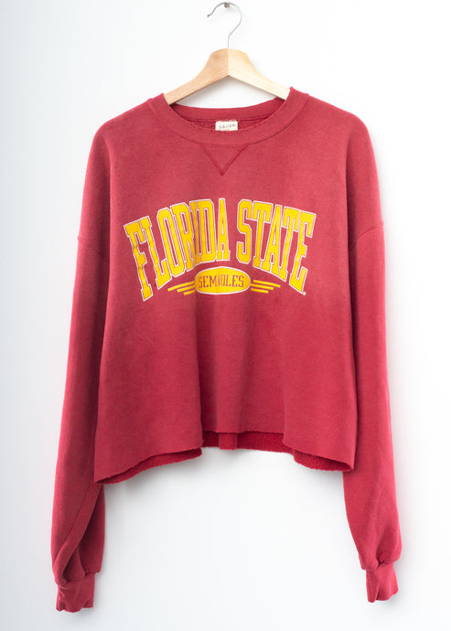 Florida State Cropped Sweatshirt