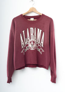 Alabama Cropped Sweatshirt