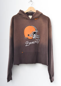 Cleveland Browns Cropped Hoodie