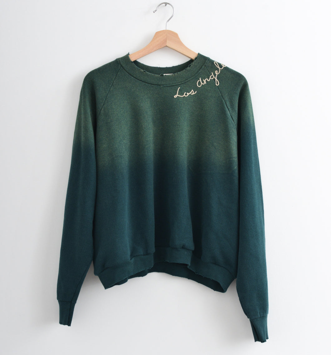 Los Angeles Sweatshirt - Evergreen