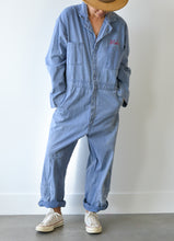 OVERSIZED CHAMBRAY JUMPSUIT