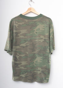 "Camo ""California"" Tee -Washed Olive"