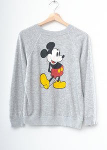 Vintage Mickey Sweatshirt - Customize Your Embroidery Wording