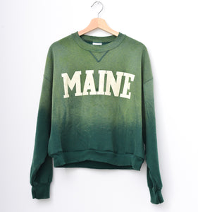 Maine Sweatshirt - Mountain Green