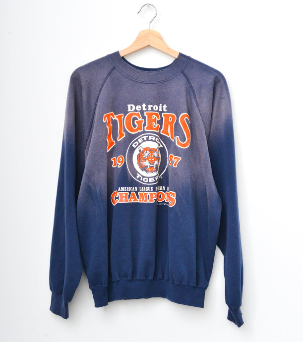 Detroit Tigers Sweatshirt - Mood Navy