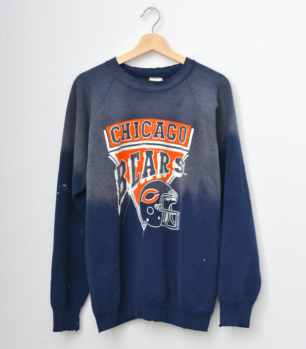 Chicago Bears Sweatshirt - Washed Navy