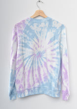Rowayton Coachella Tie Dyed Sweatshirt- Lilac Breeze